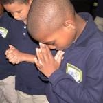 Boys-Praying
